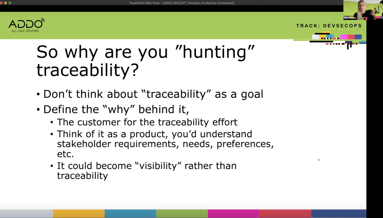 how to attain traceability