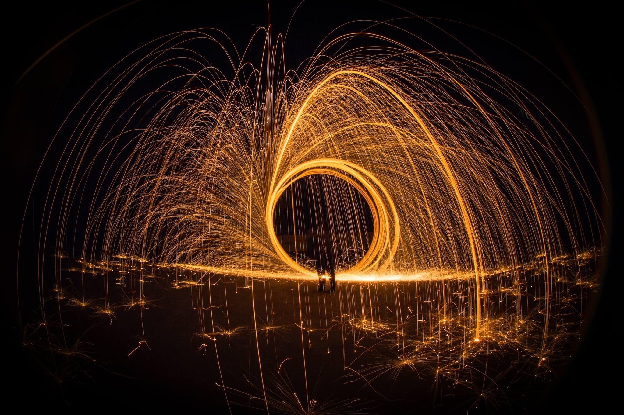 light-painting-at-night-327509